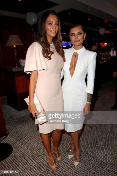 Verona Pooth and Sophia Thomalla attend the Felix Burda Award at Hotel Adlon on May 14 2017 in Berlin Germany