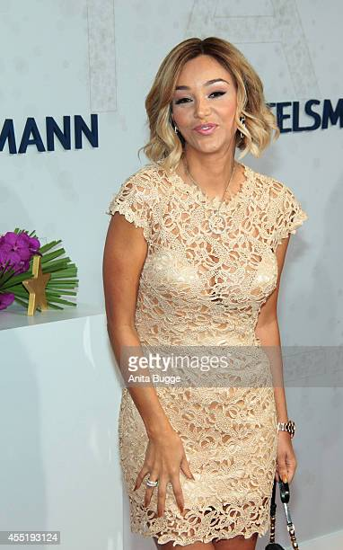 Verona Pooth attends the Bertelsmann Summer Party at the Bertelsmann representative office on September 10 2014 in Berlin Germany