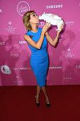 Verona Pooth attends the 'CLOSER Magazine Hosts SMILE Award 2014' at Hotel Vier Jahreszeiten on November 4 2014 in Munich Germany
