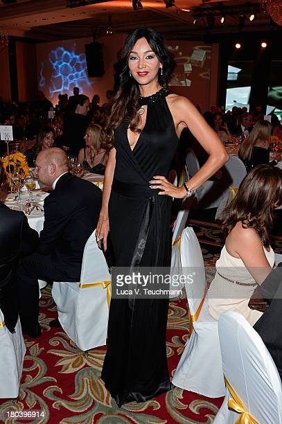 Verona Pooth attends the Dreamball 2013 charity gala at Ritz Carlton on September 12 2013 in Berlin Germany