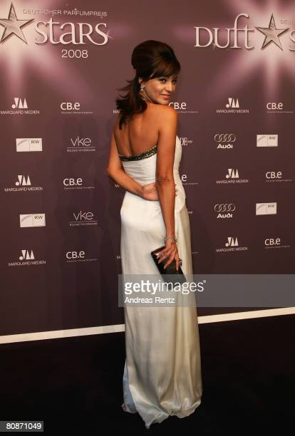 Verona Pooth attends the 'Duftstars' Award 2008 at the 'The Station' on April 26 2008 in Berlin Germany