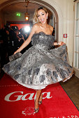 Verona Pooth attends the Gala Spa Awards 2014 at Brenners Parkhotel BadenBaden on March 15 2014 in BadenBaden Germany