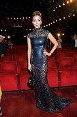Verona Pooth attends the 'Goldene Bild Der Frau' Award 2014 at TUI Operettenhaus on November 20 2014 in Hamburg Germany