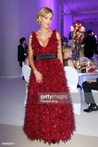Verona Pooth attends the Rosenball 2014 on May 31 2014 in Berlin Germany