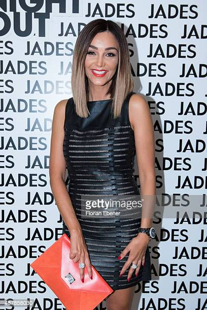 Verona Pooth attends Vogue Fashion's Night Out at Jades on September 11 2015 in Duesseldorf Germany