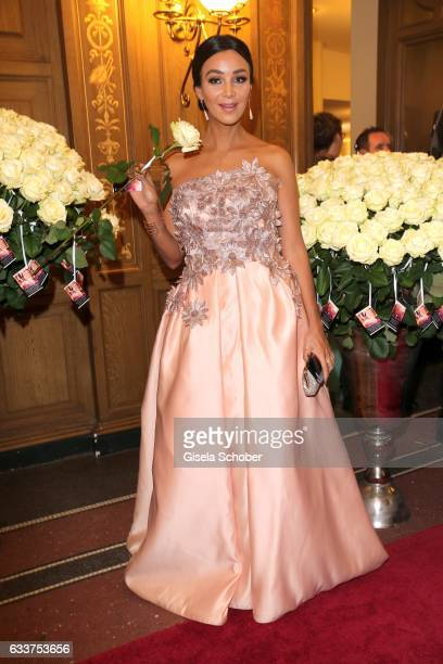 Verona Pooth during the Semper Opera Ball 2017 at Semperoper on February 3 2017 in Dresden Germany