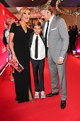 Verona Pooth with her husband Franjo and son Diego attend the '20 Jahre Gala' Anniversary Celebration The Private Birthday Cruise on board of 'MS...