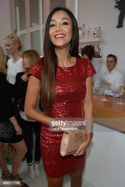 Verona Poth attends the Gala Fashion Brunch at Ellington Hotel on January 17 2014 in Berlin Germany