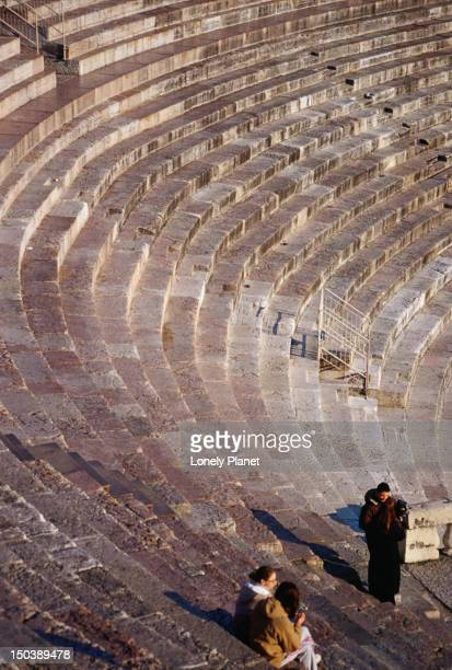 Verona's Arena, the Roman Amphitheatre, was built in the 1st century BC during the last years of the Emperor Augustus.