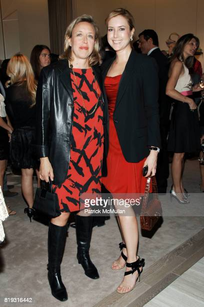 Veronica Bulgari and Christine Cachot attend SAKS FIFTH AVENUE VALENTINO Host a Dinner to benefit SAVE VENICE at Saks Fifth Avenue on April 14 2010...