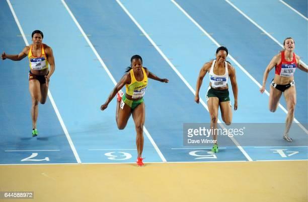 Veronica CAMPBELL BROWN 60m Championnats de Monde d'Athletisme en Salle Atakoy Athletics Arena Istanbul Photo Dave Winter / Icon Sport