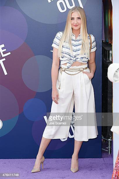 Veronica Dunne attends Disney/Pixar's 'Inside Out' Los Angeles Premiere at the El Capitan Theatre on June 8 2015 in Hollywood California