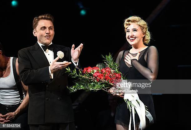 Veronica Dunne makes her Broadway debut in 'Chicago' at the Ambassador Theatre on October 17 2016 in New York City