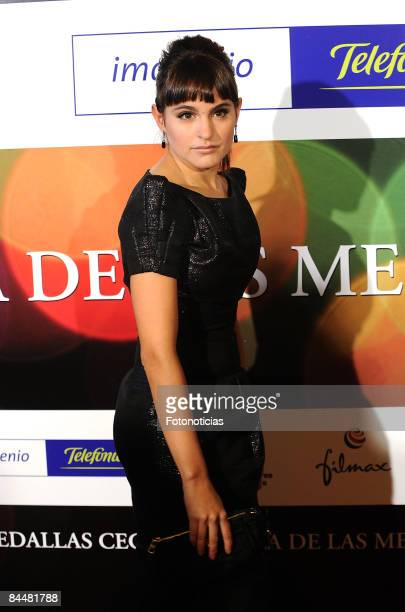 Veronica Echegui attends 'CEC Medals Gala' at Palafox Cinema on January 26 2009 in Madrid Spain
