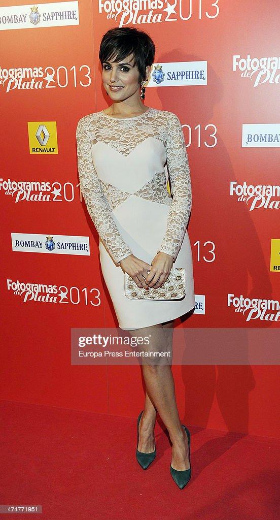 Veronica Echegui attends Fotogramas Awards 2013 at Joy Eslava Club on February 24 2014 in Madrid Spain
