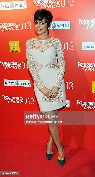 Veronica Echegui attends Fotogramas Awards 2013 at Joy Eslava Club on February 24 2014 in Madrid Spain