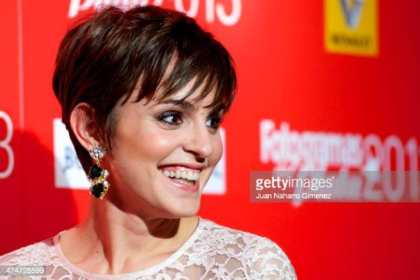 Veronica Echegui attends 'Fotogramas Awards' 2013 at Teatro Joy Eslava on February 24 2014 in Madrid Spain