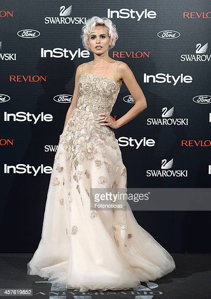 Veronica Echegui attends the InStyle Magazine 10th anniversary party at Gran Melia Fenix Hotel on October 21 2014 in Madrid Spain