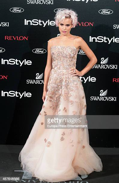 Veronica Echegui attends the InStyle Magazine 10th anniversary party on October 21 2014 in Madrid Spain