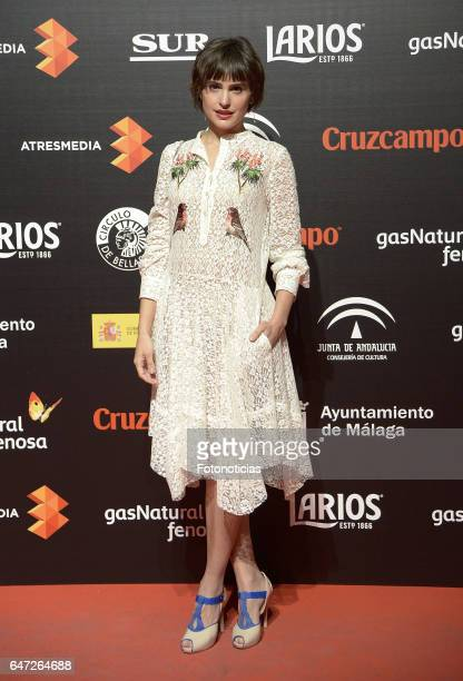 Veronica Echegui attends the Malaga Film Festival presentation cocktail at the Circulo de Bellas Artes on March 2 2017 in Madrid Spain