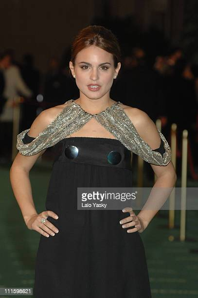 Veronica Echegui during 2007 Goya Awards Arrivals at Palacio de Exposiciones in Madrid Spain