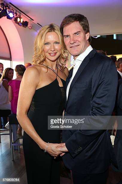Veronica Ferres and her husband Carsten Maschmeyer during the MercedesBenz reception at 'Klassik am Odeonsplatz' 2016 on July 17 2016 in Munich...