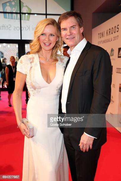 Veronica Ferres and her husband Carsten Maschmeyer during the Toni Kroos charity gala benefit to the Toni Kroos Foundation at 'The Palladium' on June...