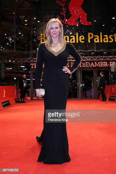 Veronica Ferres attends Opening Party 64th Berlinale International Film Festival at Berlinale Palast on February 06 2014 in Berlin Germany