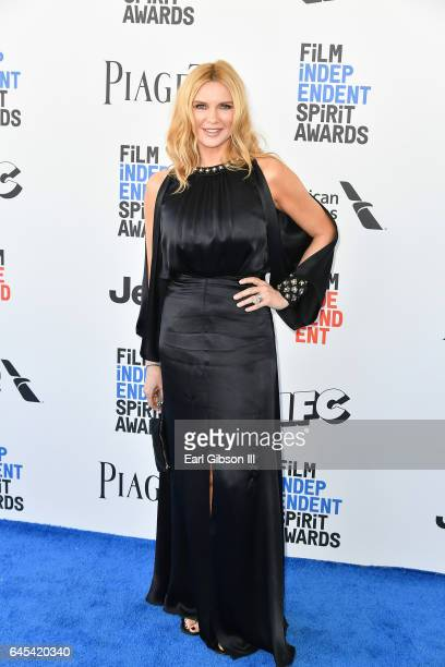 Veronica Ferres attends the 2017 Film Independent Spirit Awards on February 25 2017 in Santa Monica California