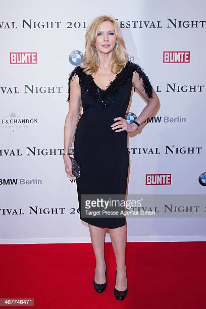 Veronica Ferres attends the Bunte BMW Festival Night 2014 at Humboldt Carree on February 7 2014 in Berlin Germany