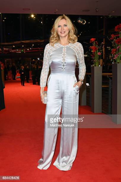 Veronica Ferres attends the 'Django' premiere during the 67th Berlinale International Film Festival Berlin at Berlinale Palace on February 9 2017 in...