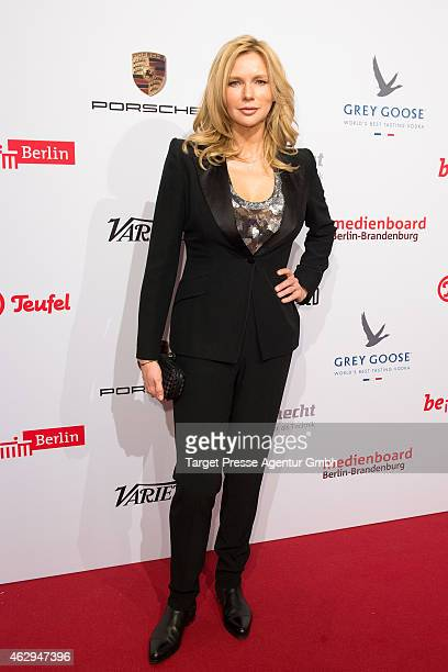 Veronica Ferres attends the Medienboard BerlinBrandenburg Reception at Ritz Carlton on February 7 2015 in Berlin Germany