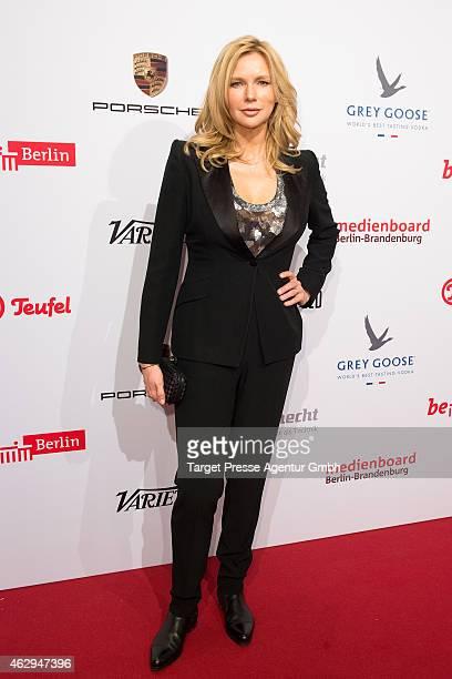 Veronica Ferres attends the Medienboard BerlinBrandenburg Reception at Ritz Carlton on February 7 2015 in Berlin Germany