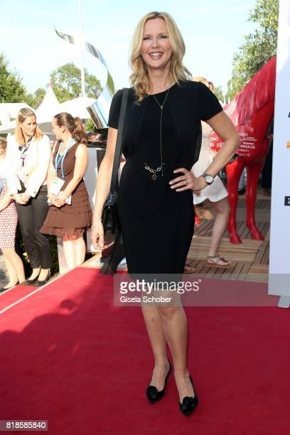 Veronica Ferres during the media night of the CHIO 2017 on July 18 2017 in Aachen Germany