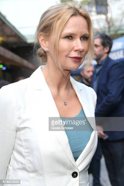 Veronica Ferres during the premiere of the movie 'Rueckkehr nach Montauk' at City Kino on May 3 2017 in Munich Germany