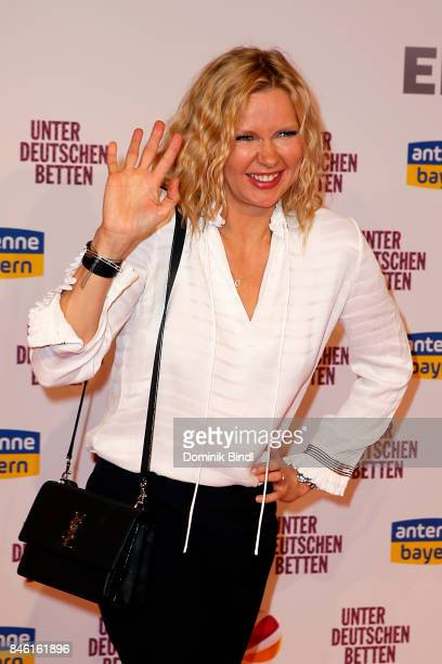 Veronica Ferres during the 'Unter deutschen Betten' premiere at Mathaeser Filmpalast at Mathaeser Filmpalast on September 12 2017 in Munich Germany