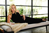 Veronica Ferres is photographed at a private residence August 13 2015 in Malibu California Stylist Cari Nelson carinelsonstylistcom Stylist Assistant...