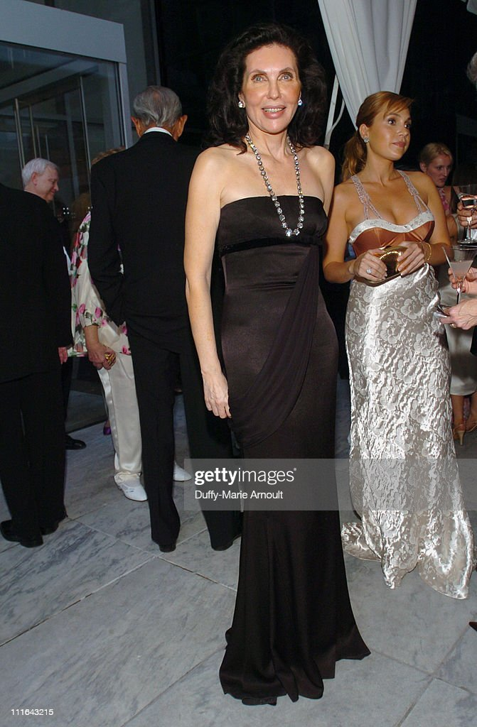 Veronica Hearst and Fabiola Beracasa during The 37th Annual Party in the Garden Honoring David Rockefeller's 90th Birthday at The Abbey Aldrich...