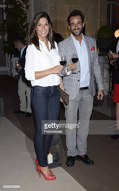 Veronica Hidalgo and Cuco de Frutos attend the Zacapa Room opening party at the Casino de Madrid on September 22 2014 in Madrid Spain