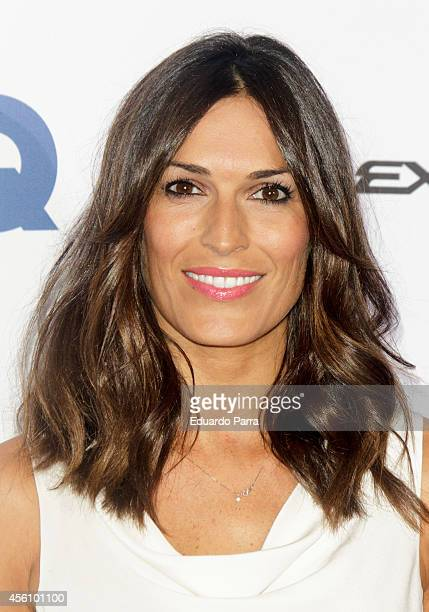 Veronica Hidalgo attends 'GQ Man in Progress' exhibition party photocall at The Costume Museum on September 25 2014 in Madrid Spain
