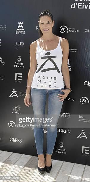 Veronica Hidalgo attends the Adlib Fashion press conference on June 6 2015 in Ibiza Spain