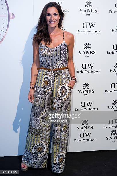 Veronica Hidalgo attends the 'Daniel Wellington' presentation party at the Yanes Jewelry on June 17 2015 in Madrid Spain