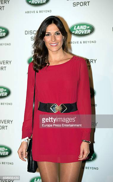 Veronica Hidalgo attends the presentation of Land Rover Discovery Sport on November 13 2014 in Madrid Spain