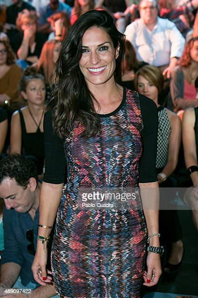 Veronica Hidalgo is seen attending MercedesBenz Fashion Week Madrid Spring/Summer 2016 at Ifema on September 19 2015 in Madrid Spain