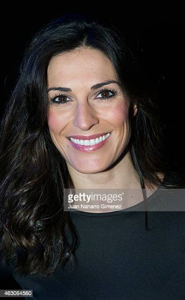 Veronica Hidalgo is seen attending the catwalks during Madrid Fashion Week Fall/Winter 2015/16 at Ifema on February 9 2015 in Madrid Spain