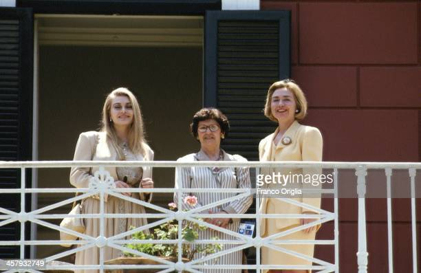 Veronica Lario Second wife of Italian Prime Minister Silvio Berlusconi Marie Delors wife of European Commission President Jacques Delors and US First...