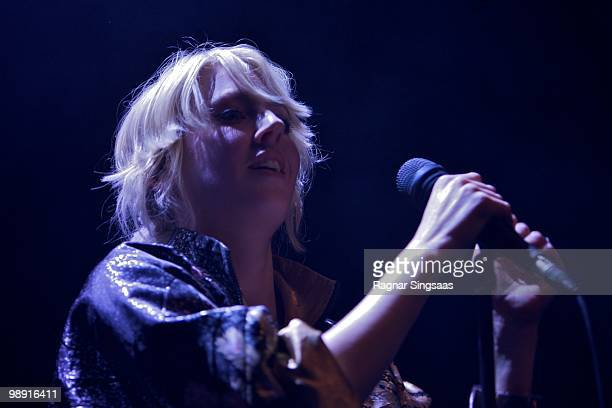 Veronica Maggio performs at the Rockefeller on May 7 2010 in Oslo Norway