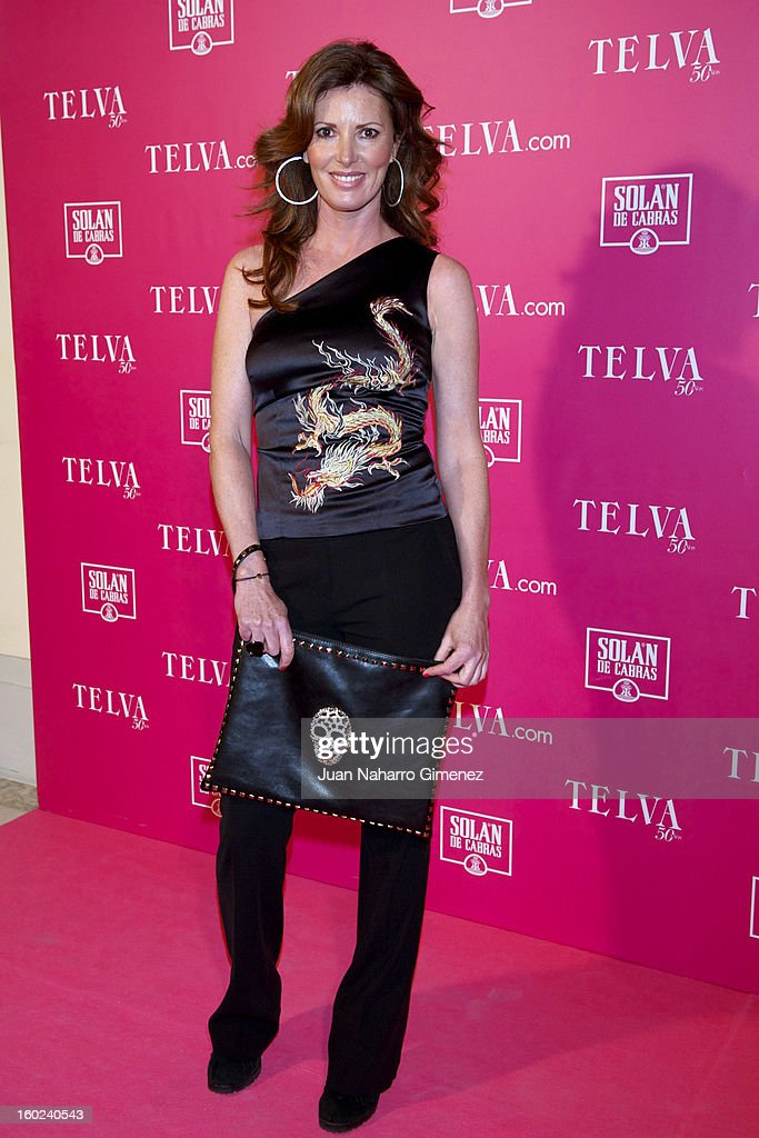 Veronica Mengod attends 'Beauty T Awards 2013' by Telva at Palace Hotel on January 28, 2013 in Madrid, Spain.