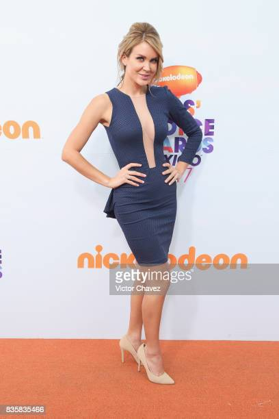 Veronica Montes attends the Nickelodeon Kids' Choice Awards Mexico 2017 at Auditorio Nacional on August 19 2017 in Mexico City Mexico