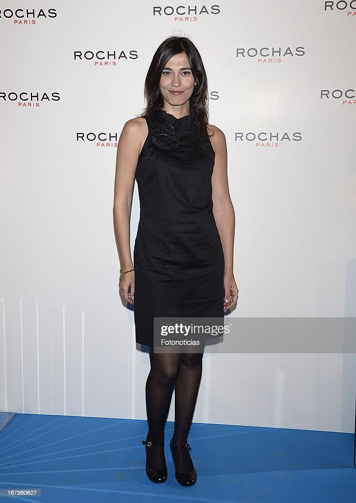 Veronica Morales attends 'Tribut to Freshness and Rochas Women' event at the French embassy on April 24, 2013 in Madrid, Spain.